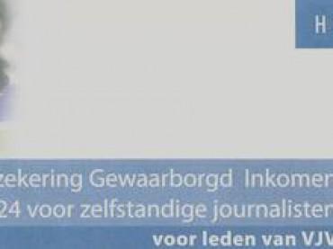Verzekerd gewaarborgd inkomen voor journalisten