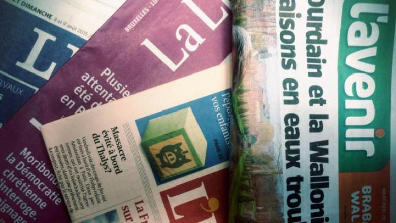 De zwanenzang van de Franstalige dagbladpers