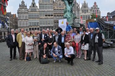 Algemene vergadering VJV in de Artesis Plantijn Hogeschool in Antwerpen