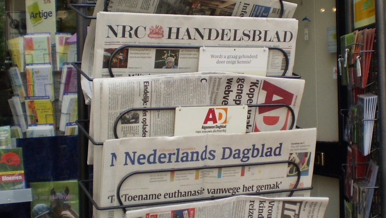 Nederlandse redacties onder druk