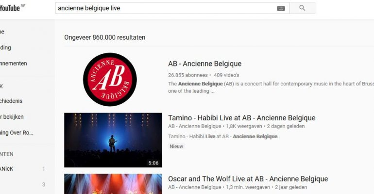 Het correct gebruik van zoektermen op YouTube