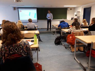 VJV-infosessie in Antwerpen: VJV informeert de studenten